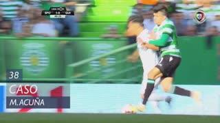 Sporting CP, Caso, M. Acuña aos 38'