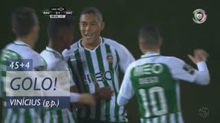 GOLO! Rio Ave FC, Vinícius aos 45'+4', Rio Ave FC 2-1 CD Nacional