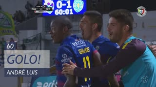 GOLO! GD Chaves, André Luis aos 60', GD Chaves 1-1 Sporting CP