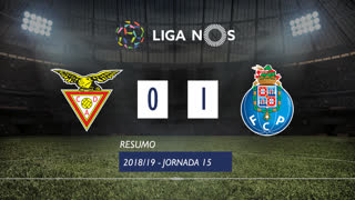 Liga NOS (15ªJ): Resumo CD Aves 0-1 FC Porto