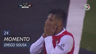 SC Braga, Jogada, Dyego Sousa aos 24'