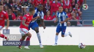 SL Benfica, Caso, Grimaldo aos 9'