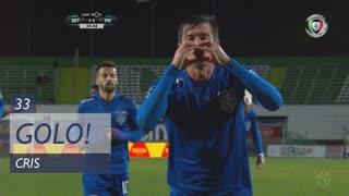 GOLO! CD Feirense, Cris aos 33', Vitória FC 1-1 CD Feirense