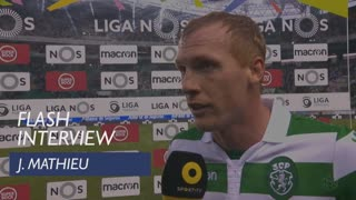 Liga (17ª): Flash interview J. Mathieu