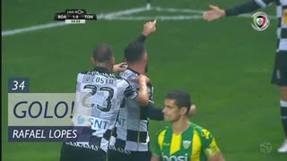 GOLO! Boavista FC, Rafael Lopes aos 34', Boavista FC 2-0 CD Tondela