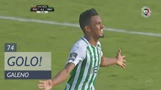 GOLO! Rio Ave FC, Galeno aos 74', Sta. Clara 0-2 Rio Ave FC