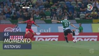 Sporting CP, Jogada, Ristovski aos 65'