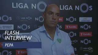 Liga (6ª): Flash interview Pepa
