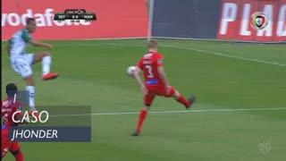 Vitória FC, Caso, Jhonder aos 1'