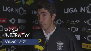 Liga (33ª): Flash Interview Bruno Lage