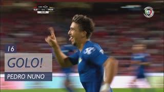 GOLO! Moreirense FC, Pedro Nuno aos 16', SL Benfica 1-2 Moreirense FC