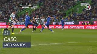 Moreirense FC, Caso, Iago Santos aos 22'