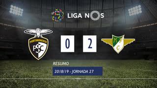 Liga NOS (27ªJ): Resumo Portimonense 0-2 Moreirense FC