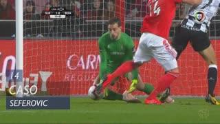 SL Benfica, Caso, Seferovic aos 14'