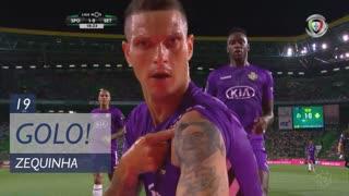 GOLO! Vitória FC, Zequinha aos 19', Sporting CP 1-1 Vitória FC