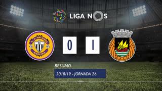 Liga NOS (26ªJ): Resumo CD Nacional 0-1 Rio Ave FC