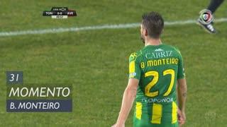 CD Tondela, Jogada, Bruno Monteiro aos 31'