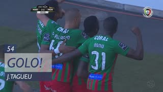 GOLO! Marítimo M., J.Tagueu aos 54', Marítimo M. 2-2 Moreirense FC