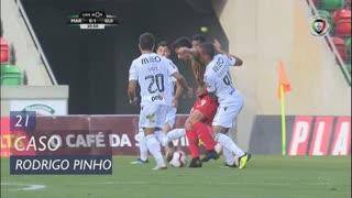 Marítimo M., Caso, Rodrigo Pinho aos 21'