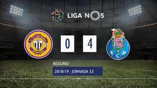 Liga NOS (33ªJ): Resumo CD Nacional 0-4 FC Porto