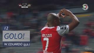 GOLO! SC Braga, Wilson Eduardo aos 12', SC Braga 1-0 Moreirense FC