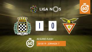 Liga NOS (7ªJ): Resumo Flash Boavista FC 1-0 CD Aves