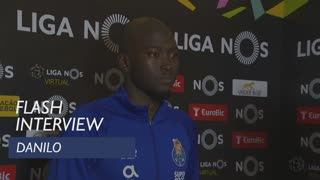 Liga (12ª): Flash interview Danilo
