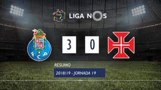 Liga NOS (19ªJ): Resumo FC Porto 3-0 Os Belenenses