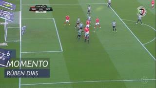 SL Benfica, Jogada, Rúben Dias aos 6'