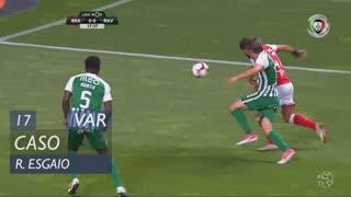 SC Braga, Caso, Ricardo Esgaio aos 17'