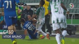 CD Feirense, Caso, Vítor Bruno aos 38'
