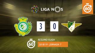 Liga NOS (7ªJ): Resumo Flash Vitória FC 3-0 Moreirense FC