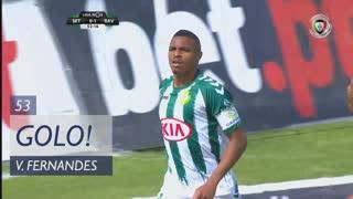 GOLO! Vitória FC, Vasco Fernandes aos 53', Vitória FC 1-1 Rio Ave FC