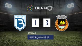 Liga NOS (30ªJ): Resumo Os Belenenses 1-3 Rio Ave FC