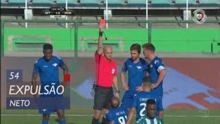 Moreirense FC, Expulsão, Neto aos 54'