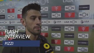 Liga (22ª): Flash Interview Pizzi
