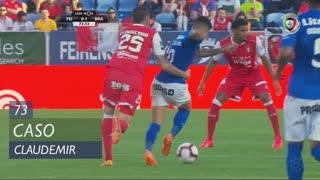 SC Braga, Caso, Claudemir aos 73'