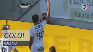 GOLO! Rio Ave FC, Galeno aos 17', CD Tondela 0-1 Rio Ave FC