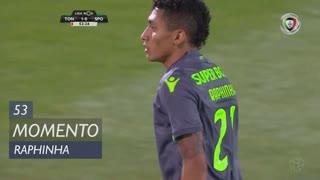 Sporting CP, Jogada, Raphinha aos 53'