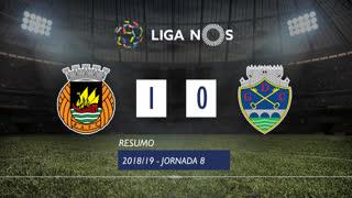Liga NOS (8ªJ): Resumo Rio Ave FC 1-0 GD Chaves