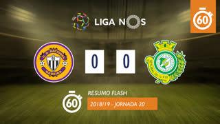 Liga NOS (20ªJ): Resumo Flash CD Nacional 0-0 Vitória FC