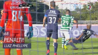 Sporting CP, Penálti, Luiz Phellype aos 68'
