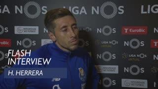 Liga (4ª): Flash interview H. Herrera