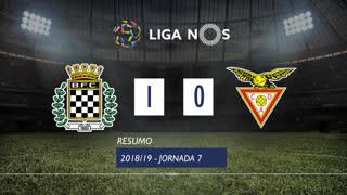 Liga NOS (7ªJ): Resumo Boavista FC 1-0 CD Aves