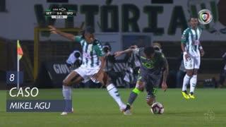 Vitória FC, Caso, Mikel Agu aos 8'
