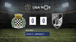 Liga NOS (9ªJ): Resumo Boavista FC 0-0 Vitória SC