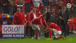 GOLO! SL Benfica, André Almeida aos 67', SL Benfica 6-1 SC Braga