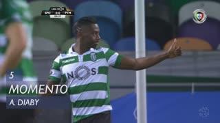 Sporting CP, Jogada, A. Diaby aos 5'