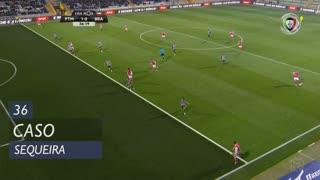 SC Braga, Caso, Sequeira aos 36'