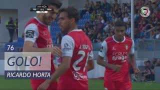 GOLO! SC Braga, Ricardo Horta aos 76', CD Feirense 0-2 SC Braga